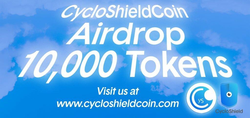 CycloShieldCoin Airdrop promo